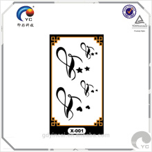 Worldwide popular single color small size temporary tattoo sticker for daily decoration