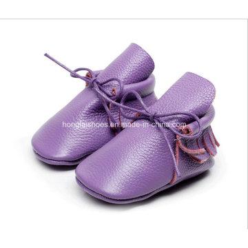 Europe Leather Fringed Baby Shoes 04