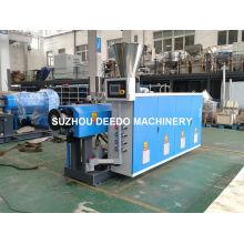 Máquina de extrusión de doble tornillo de tubería de PVC de plástico
