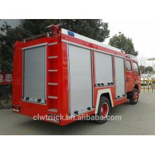 Dimensión superior del coche de bomberos de la calidad, carro de bomberos de 3 toneladas para la venta