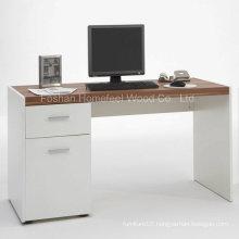 Elegant White Target Computer Desk (HF-D005)