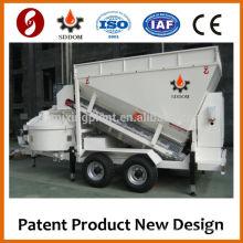Мобильный мини-бетонный завод для продажи DOM MB1200