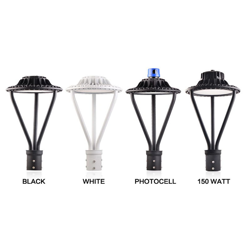 ETL DLC Listed 100-277VAC 30W led post top light-1