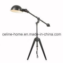 Popular lámpara de mesa de hierro clásico flexible (SL82194-4T)