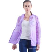Lightweight Waterproof Anti UV Skin Coat Sun Protection Jacket