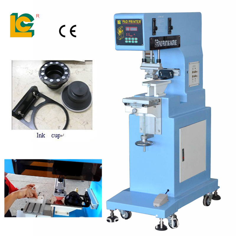 1 color semi auoto pad printing machine China Manufacturer