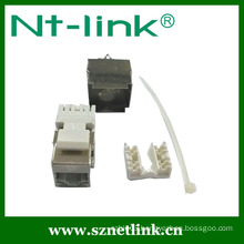 Netlink Dual IDC 180 degree cat6 ftp keystone jack