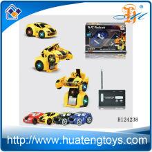 2014 El más nuevo 2ch retie el juguete del coche de la deformación del control, coche H124238 de la deformación del rc