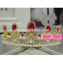 Bandas para los niños visten la tiara de encargo de la boda de la princesa