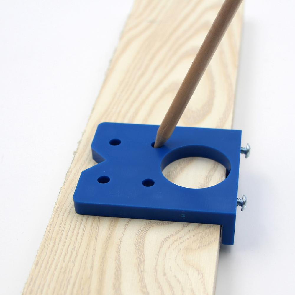 Accurate Woodworking Hole Opener Tool