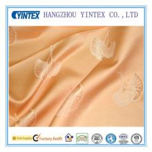 SGS patrón de hoja de alta calidad de poliéster / tejido de algodón para la decoración