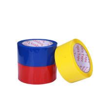 Cinta acrílica de PVC rojo para sellado de cajas de cartón
