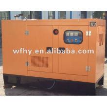 15kw silencioso generador diesel conjunto