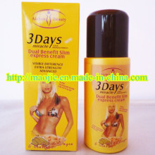 New Arrival 3 Days Slim Miracle Weight Loss Cream (MJ-3DAYS 125g)