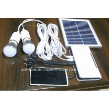 Two and Three LED Bulb Light Solar Lighting System