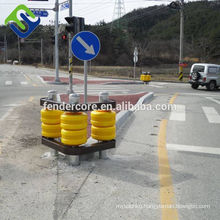 Easy replace Highway guardrail anti crash roller barrier