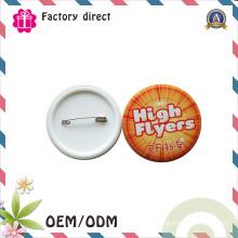 Insignes promotionnels de Pin en métal de fond en métal de cadeau promotionnel d'affaires