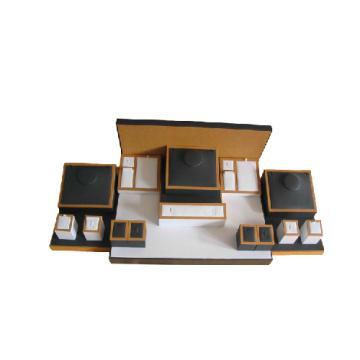 Custom Fantastic PU Jewelry Holder Display Set (WST-BWB1)