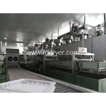 Green Vegetable Drying Machine