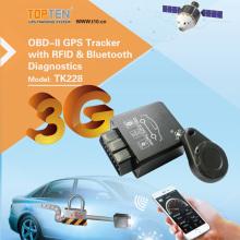 3G / 4G OBD2 GPS спутниковая система слежения с беспроводной системой, аварийное отключение (TK228-KW)