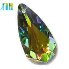 Großhandelsqualitätstropfenformkristall mit Loch
