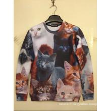 Chemise de chats d'animaux pour amoureux