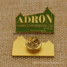 Promoção Custom Metal Enaml Company Logo Pin Badge