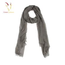 Écharpe de tricot de laine de cachemire pur