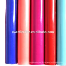 Sun reflektierende tpu Material Fluoreszenz Farbe Sport Schuhe Material 1,4 mm Dicke