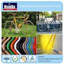 Beliebte Ral & Pantone Farbe Pulverbeschichtung für Fahrrad
