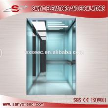 Moderno, negócio, passageiro, elevador