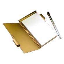 Metall Memo Halter Memo Pad Box