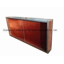 Unité de distribution d'air de bobines de refroidissement pour système de climatisation 16ton (