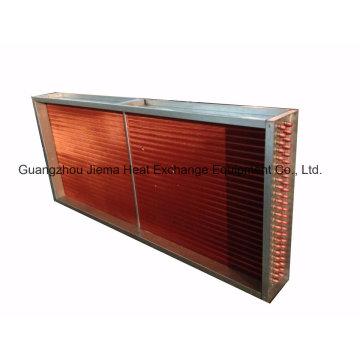 Refrigerando as bobinas que entregam a unidade para o sistema de condicionamento de ar de 16ton (
