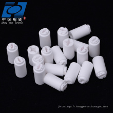 isolant en céramique d'alumine blanche pour capteur
