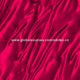 Polyester Satin Fabric with P/D and Printing, Customized Specifications are Accepted