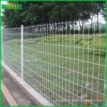 Clôture en treillis métallique en PVC recouvert de PVC de haute qualité