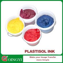Qingyi mejor precio tinta de plastisol para tela