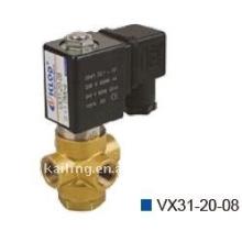 VX31 / 32/33 Válvulas solenóide para água de 3 vias