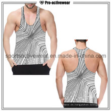 En Stock Fitness Moda Hot Sale Hombres Tank Top