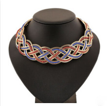 New arrived bead colored collar necklace