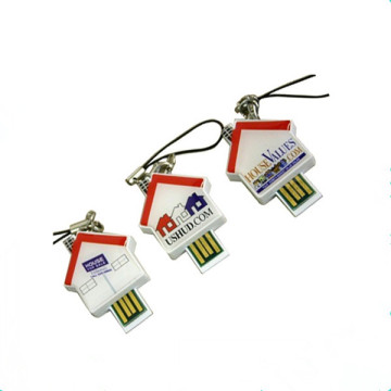 Huis Model Lichter USB Stick Mini Pen Drive