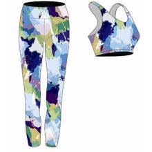 Оптовая сексуальное OEM Цветастый Бодибилдинг Йога Одежда для женщин