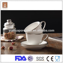 200 ml de tasses expresso en céramique blanche en espresso pour café