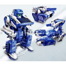 3in1 Abs Plastic / Electronic Component Solar Energy Toy Robot