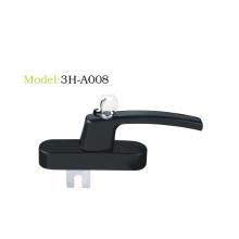 Multi-point lockable handle series take the key