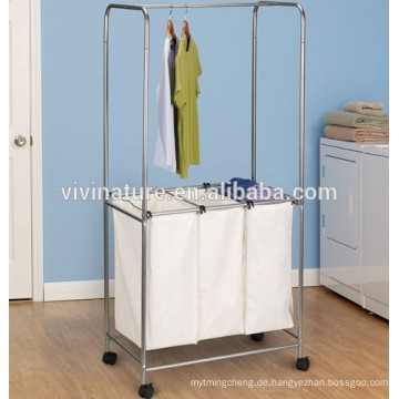 hochwertige Leinen-Wäschesäcke mit Griffen