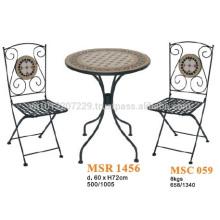 Ensemble de meubles mosaïques - Set de bistrots