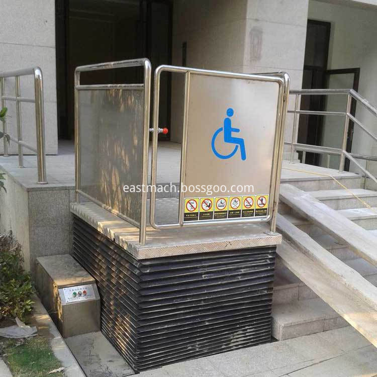 Power Lift Up Seat Wheelchair
