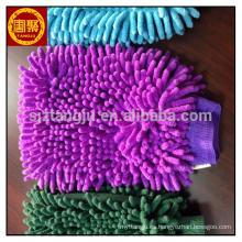 Alta absorción guantes de lavado de coches Mitt Clean Towel, chenille toalla de lavado